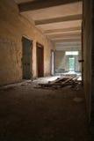 Broken doors and ruins Royalty Free Stock Photo