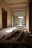 Broken doors and ruins Royalty Free Stock Images