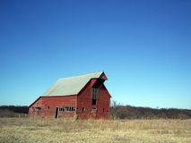 Broken Down Barn 2 Royalty Free Stock Photography