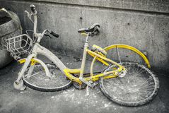 Broken Down Bicycle stock photography