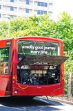 Broken down bus. Royalty Free Stock Image