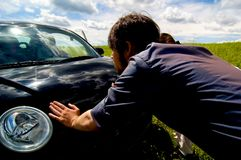 Free Broken Down Car Stock Photography - 1420862