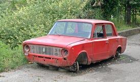 Broken-down Car Stock Photography
