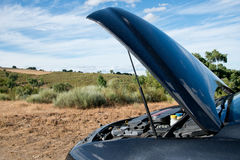 Broken Down Car Royalty Free Stock Image