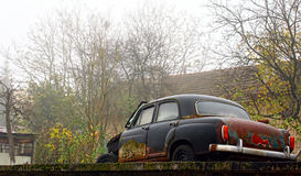 Broken down car Stock Images