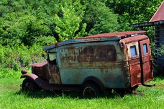 Broken Down Jalopy Royalty Free Stock Images