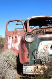 Broken down truck in West Australian outback Royalty Free Stock Photography