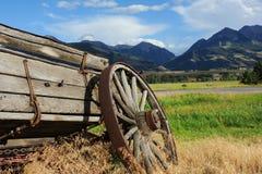 Broken Down Wagon Royalty Free Stock Photo