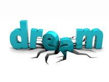 Broken dream Stock Images