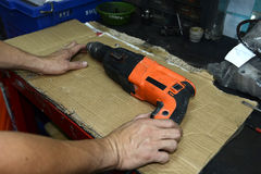 Broken drill Royalty Free Stock Image