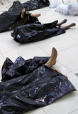 The broken dummies stock image
