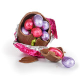 Broken Easter egg Royalty Free Stock Photos
