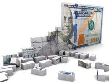 Broken economic Stock Images