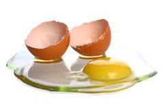 Broken egg Stock Image