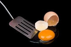 Broken egg Royalty Free Stock Image