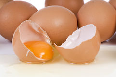 Broken Egg Royalty Free Stock Photo