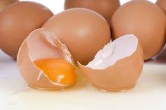 Broken Egg Royalty Free Stock Photo
