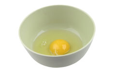 Broken egg Stock Photography