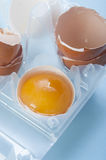 Broken egg Royalty Free Stock Photography