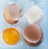 Broken egg Royalty Free Stock Photos