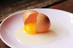 Broken egg Royalty Free Stock Images