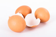 Broken Egg Shell Stock Photos