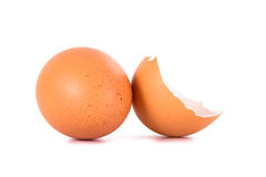 Broken Egg Shell Royalty Free Stock Images