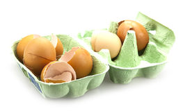 Broken egg shells Royalty Free Stock Photo
