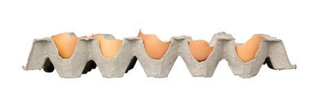 Broken eggs Royalty Free Stock Photography