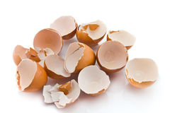 Broken Eggshell Royalty Free Stock Photography