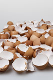 Broken eggshells Royalty Free Stock Images