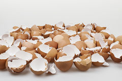 Broken eggshells Stock Photography