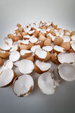 Broken eggshells Royalty Free Stock Photography
