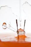 Broken electric lamp Stock Image