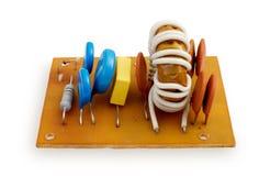 broken elektronik royaltyfri bild