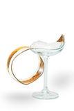 broken exponeringsglas Royaltyfri Bild