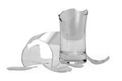 broken exponeringsglas Arkivbild