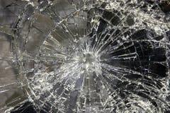 Broken exponeringsglas Arkivfoto