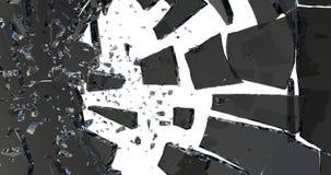 broken exponeringsglas 3d framför vektor illustrationer