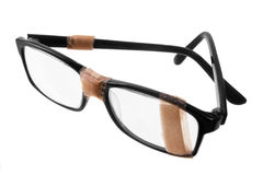 Broken Eye Glasses royalty free stock photography