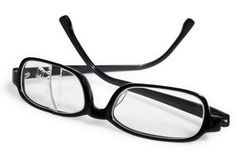 Broken eyeglasses Royalty Free Stock Image