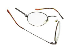 Broken Eyeglasses royalty free stock photography