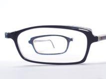 Broken eyeglasses stock photography