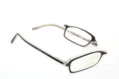 Broken eyeglasses Royalty Free Stock Photos