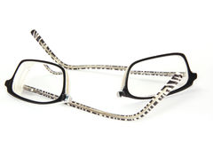 Broken eyeglasses Stock Photos