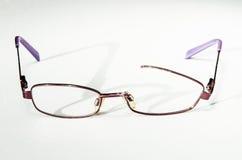 Broken eyeglasses Royalty Free Stock Photo
