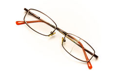 Broken eyeglasses Stock Photography