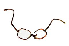 Broken Eyeglasses Stock Photo