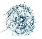 broken fönster Royaltyfri Fotografi