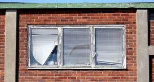 broken fönster Arkivfoton